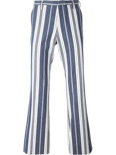 striped trousers Romeo Gigli Vintage