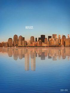never forget... R.E.F.L.E.C.T.