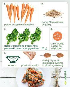 Marchewka z natką pietruszki i sezamem :) #przepis #marchewka #natkapietruszki #sezam #zdrowie #śniadanie #przystawka #dieta #zdroweodzywianie #weganizm #wegetarianizm