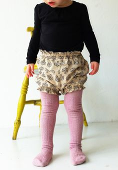 Pretty Hand Dyed Tights | YouAreSmall on Etsy