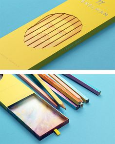 Perelman Pencils Packaging by The Bold Studio | Inspiration Grid | Design Inspiration