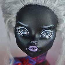 Шикарная Catty Noir ООАК / Авторские куклы (ООАК) / Шопик. Продать купить куклу / Бэйбики. Куклы фото. Одежда для кукол