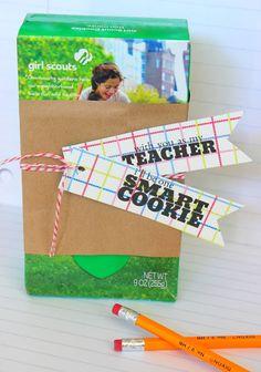 EASY Back to School Teacher's Gift