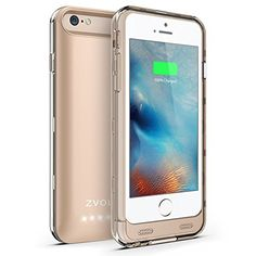 iPhone Battery Case - iPhone 6 Battery Case , Trianium Atomic S iPhone 6 Portable Charger Battery Charging Case Inches)[White/Turquoise][Lifetime Warranty]- External Backup iPhone Charger Protective Juice Power Bank[MFI Apple Certified] Iphone Deals, Buy Iphone, Champagne, Iphone Hacks, Iphone Charger, Portable Charger, Apple Iphone 6, 6s Plus, Ipad Case
