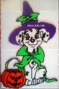 101 Dalmatians Halloween hama perler beads by Deco.Kdo.Nat