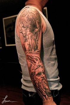 Greek Mythology Tattoos | ... tattoos is all about tattoo ideas. I hope you enjoy it as much as I do