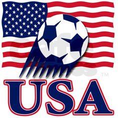 USA Soccer Car Flag