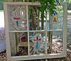 Glass Mosaic Windows | Mosaic glass window | The Other Things | Pinterest
