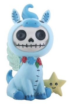 Furry bones Tatsu 2.5 Inch Cute Figurine Collectable Furrybone Skull Toy Gift