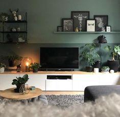 Ideas Living Room Tv Wall Ideas Picture Ledge For 2019 Living Room Tv, Interior Design Living Room, Living Room Designs, Tv On Wall Ideas Living Room, Cozy Living, Small Living, Modern Living, Deco Tv, Scandinavian Interior Design