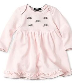 Wendy Bellissimo™ Pointelle Dress – Girls newborn-9m