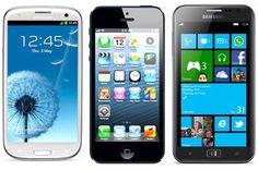 Battle Royale: Samsung Ativ S Vs. Samsung Galaxy S3 Vs. iPhone 5