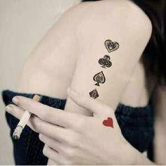 Poker tattoo