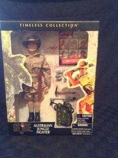 NIB Hasbro GiIJoe Timeless Collection Australian Jungle Fighter Action Figure #Hasbro