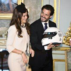 Prince Carl Philip & Sofia Hellqvist held a private reception at the Royal Palace 17/05/2015