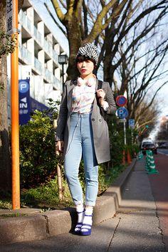 ストリートスナップ | みき | 販売員 | 原宿 (東京) - drop tokyo. #street #style #japan