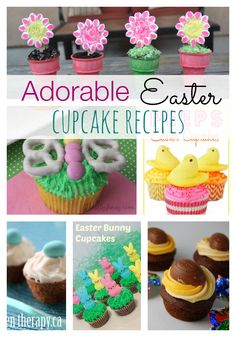 Check out these Adorable Easter Cupcake Recipes that will impress your guests and make your Easter Dessert Table look amazing!