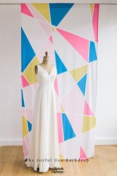 The Michelle Edgemont Shop - Michelle Edgemont. Geometric backdrop. $225