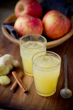 To Drink: My mom swears by this, says it takes away her aches and pains.  [Apple cider vinegar elixir]