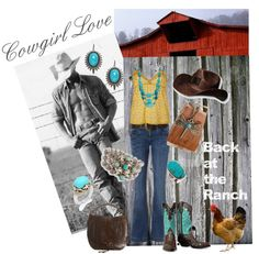 """""""Cowgirl Love"""" by joybmatthews on Polyvore"""