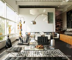 Eye For Design: Decorating With The Barcelona Chair