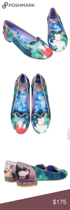 NIB 💝❤️ Irregular Choice Cinderella Flats Irregular Choice Cinderella Flats size 40 (9)  Retired Style New in Box All offers are welcome 😀 Irregular Choice Shoes Flats & Loafers
