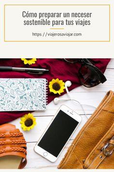 En este post te mostramos cómo preparar un neceser sostenible con el medio ambiente y que puede durarte para más de un viaje, impactando lo mínimo en el planeta. #viajesostenible #zerowaste #viajaresvivir #viajerosaviajar #viajandoporelmundo #turismoactivo #turismosostenible #equipaje #travelpassion Blog, Ideas, Frases, Sustainable Tourism, Baggage, Cosmetic Bag, Blogging, Thoughts