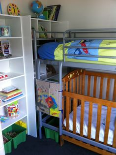 Safe bunk bed for toddlers Throughout Ladder Cover Toddler Safety Trying To Stop My 16 Month Old From Climbing The Pinterest Loft Bed Ladder Cover Needed Something To Stop My 15 Month Old From