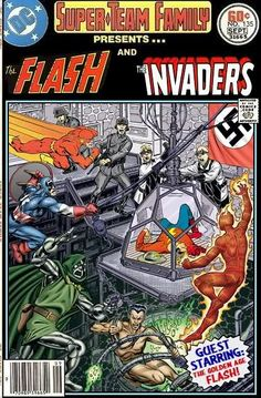 The Invaders Comic | Super-Team Family: The Lost Issues!: The Flash and the Invaders
