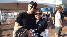 Sal and Stephanie #teamTRI