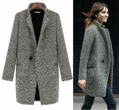 manteau long femme gris pour les filles modernes
