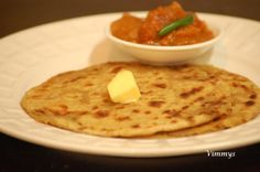 Aloo Paratha (Indian Recipe)