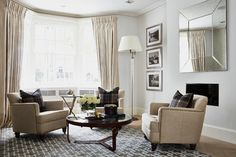 Chelsea Park Gardens | London | SW3 - transitional - Living Room - London - A.LONDON by Accouter