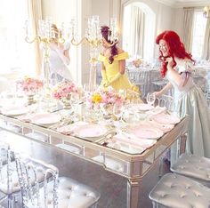 Disney Themed Bridal Party or Bachelorette Party for Wedding