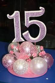 Resultado de imagen para decoracion para fiesta de 15 años con globos