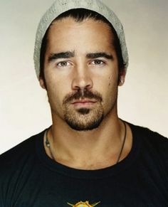 Colin Farrell~ I love a man with an accent. I also tend to go for tall, dark and handsome men from a far away land.