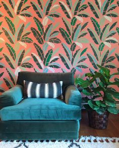 Stencils Give Life To Boring Interiors