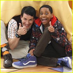 Hal Sparks and TJ Williams