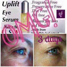 Rich in vitamins, natural skin lipids, and antioxidants, Uplift Eye Serum is formulated to replenish, moisturize, and reduce the appearance of fine lines and wrinkles. As we age, our bodies produce lessening amounts of these vital nutrients. While we may never be able to recover these nutrients, we can supplement them. Uplift contains vitamins E and C–powerful antioxidants which help fight the effects of free radicals and long-term sun exposure. Squalane, derived from sugarcane,