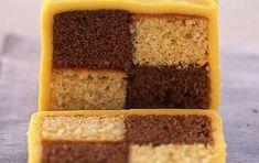 Chocolate orange battenburg cake recipe   GoodtoKnow