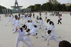 Fencing Flash Mob