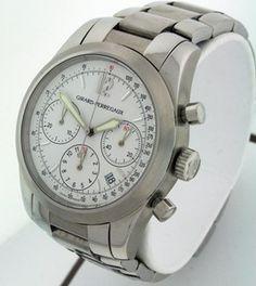 Girard Perregaux Chrono Sport Chronograph w Date $4675 used. Men's 40mm Watch | eBay