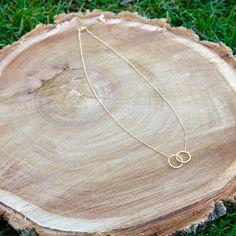 Double Circle Union Necklace