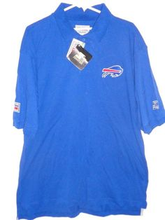 a334c2cc5 NOS 1990s Buffalo Bills men s XL Starter sideline polo shirt sewn logos   Starter  BuffaloBills