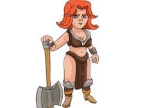 How to Draw Clash Of Clans Valkyrie.How to draw Clash of Clans Valkyrie. How to Draw Cartoons