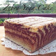 Baking Taitai: Zebra Yoga Cotton Cake 斑马瑜伽棉花蛋糕(中英食谱教程)
