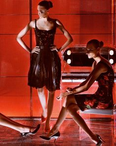 Fabiana Semprebom & Zuzana Gregorova by Steven Klein for D&G, Cruise 2007