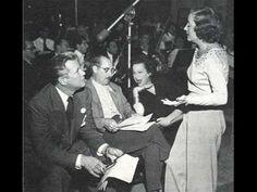 "Tallulah Bankhead & Jack Carson perform ""Baby, It's Cold Outside"" for Tallulah's ""The Big Show"" NBC Radio Program, November 19, 1950"