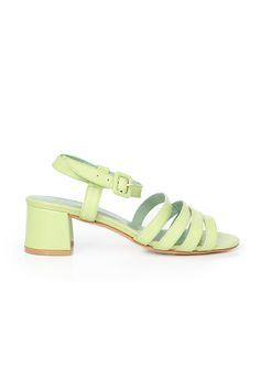 From the coveted design collection of contemporary fashion icon . Crossed Toes, Contemporary Fashion, Ankle Straps, Leather Sandals, Style Icons, Soft Leather, Calves, Outfit Essentials, Heels