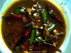South Indian Beef Curry By Arifa Kochumoideen This South Indian Beef Curry often requested. I am sharing the trusted and delicious recipe with you all. Beef curry is great for lunch or dinner and i...